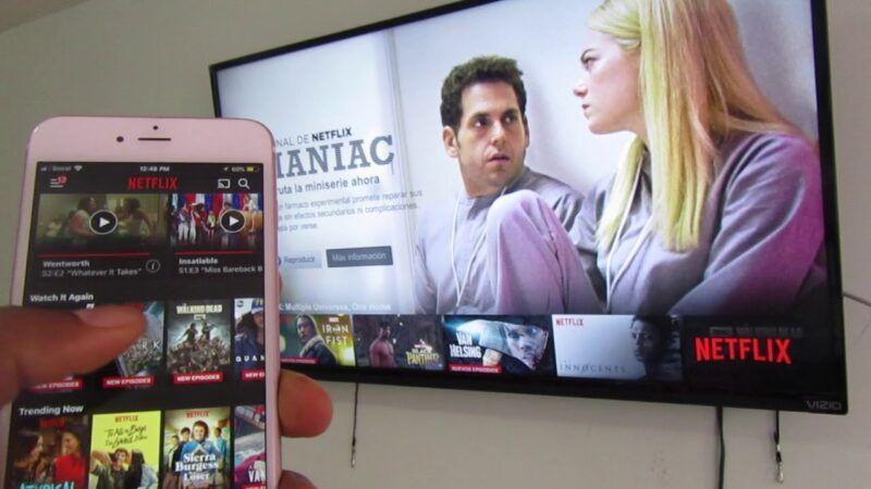 Cómo conectar Netflix al televisor desde un teléfono