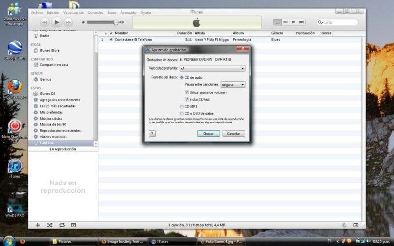 Cómo crear tus propios CDs con iTunes