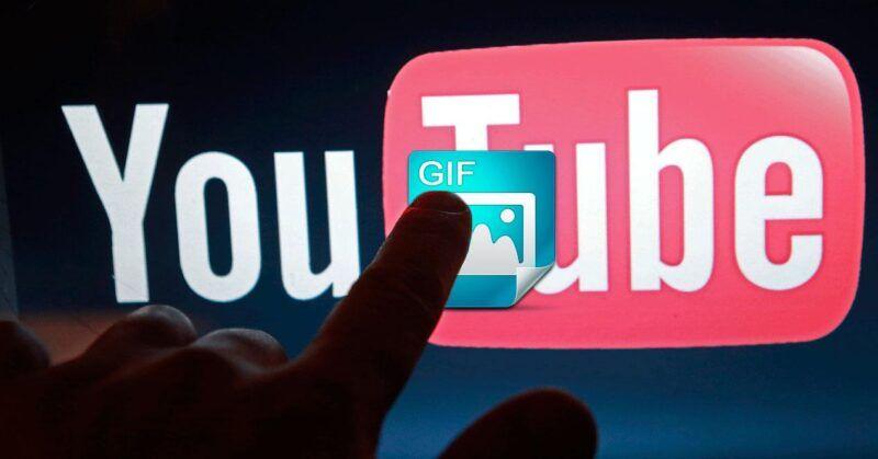 Cómo hacer un GIF a partir de un vídeo de YouTube