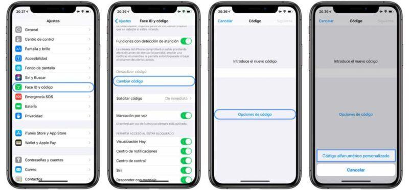 Cómo reforzar el código de acceso de tu iPhone