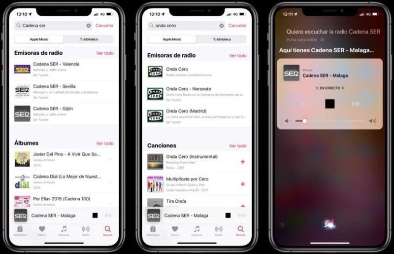 Cómo usar la función de radio en la app de música de iOS