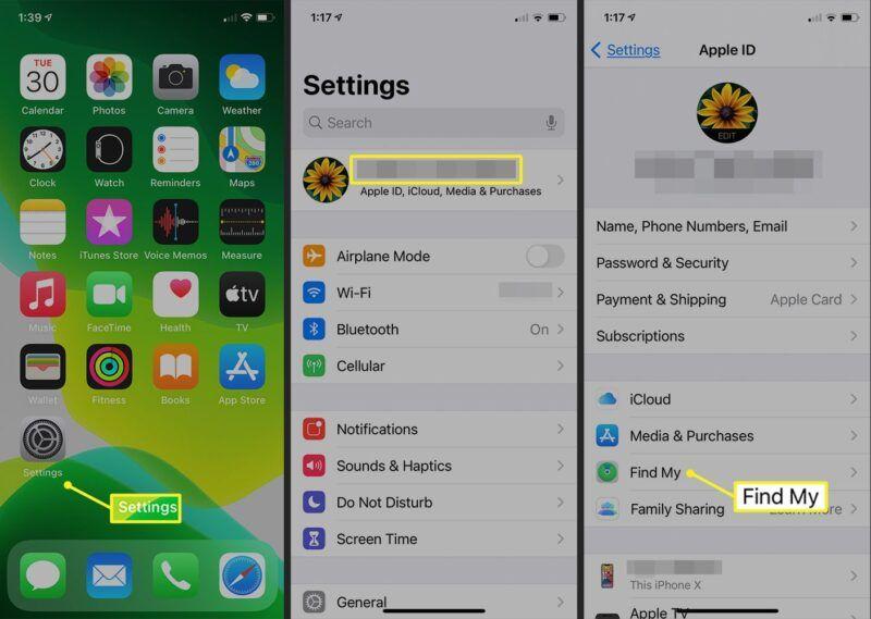 Utilizar 'Find My iPhone' para localizar un teléfono perdido o robado
