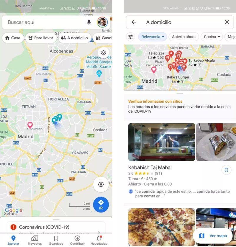 Cómo utilizar Google Delivery para hacer pedidos a restaurantes locales