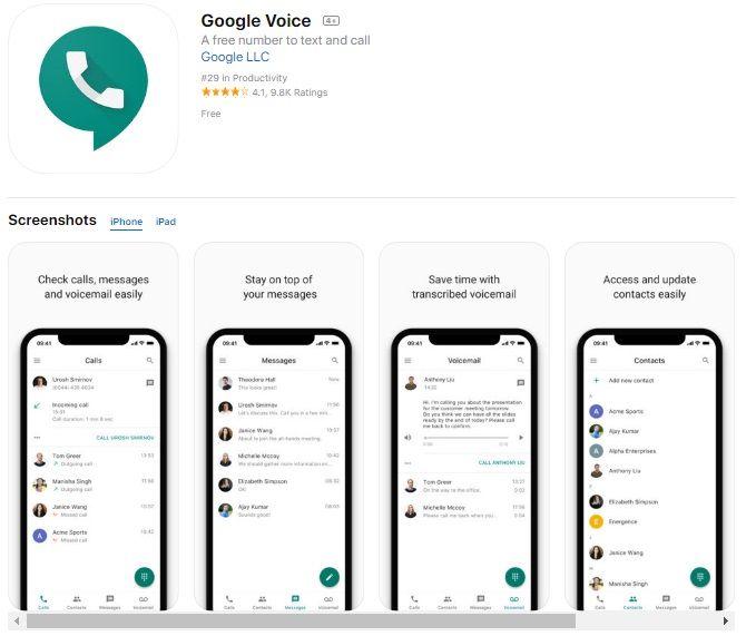 Grabar una llamada con Google Voice