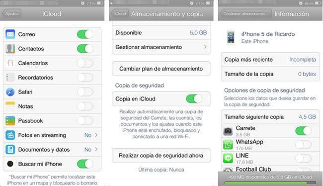 Hacer una copia de seguridad de un iPhone sin iTunes