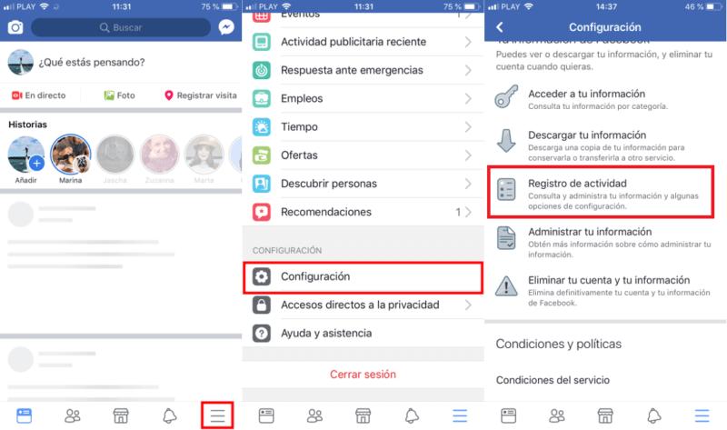 Cómo borrar el historial de búsqueda de Facebook