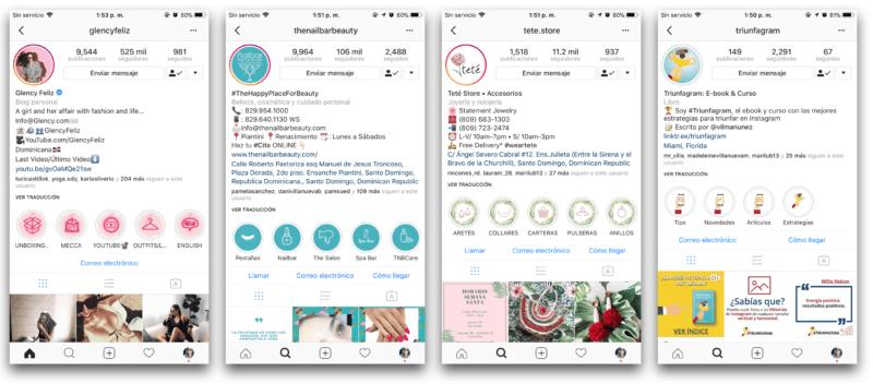 Cómo añadir aspectos destacados en Instagram