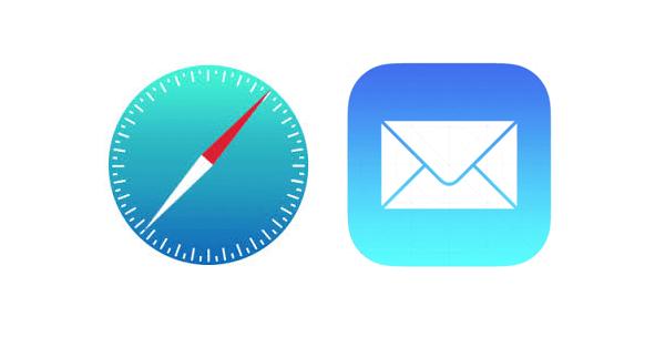 Icono correo iphone