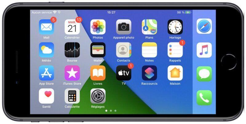 La pantalla de mi iPhone no gira. ¿Cómo lo arreglo?
