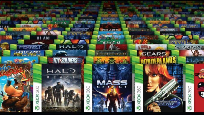 Lista de retrocompatibilidad de Xbox 360