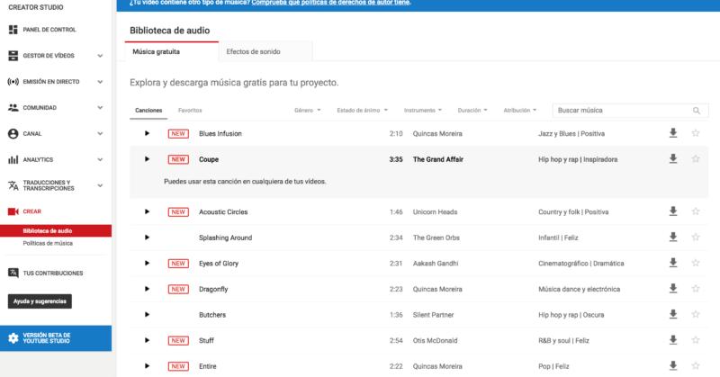 Cómo añadir legalmente música con derechos de autor a tu vídeo de YouTube