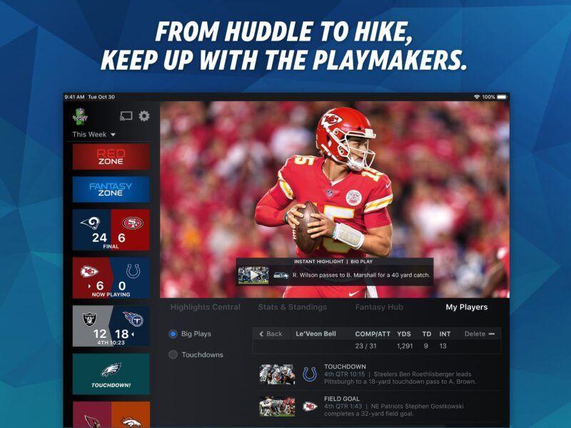 Cómo conseguir NFL Sunday Ticket sin DirecTV