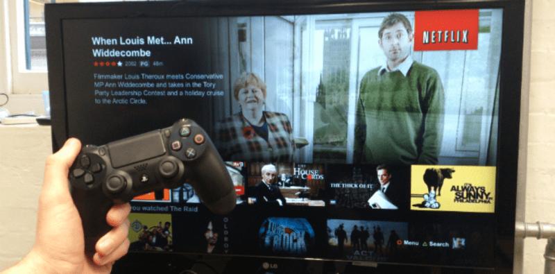 Netflix con PlayStation 4 y 4 Pro
