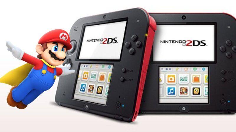 Qué viene dentro de la caja de la Nintendo 2DS?