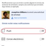 ¿Qué son las notificaciones push en Facebook?