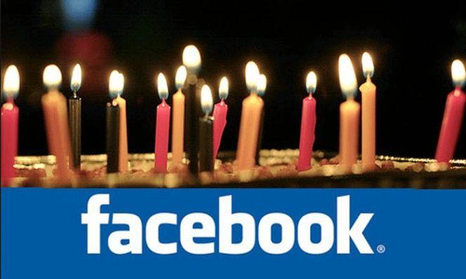 Páginas de tarjetas de felicitación de Facebook
