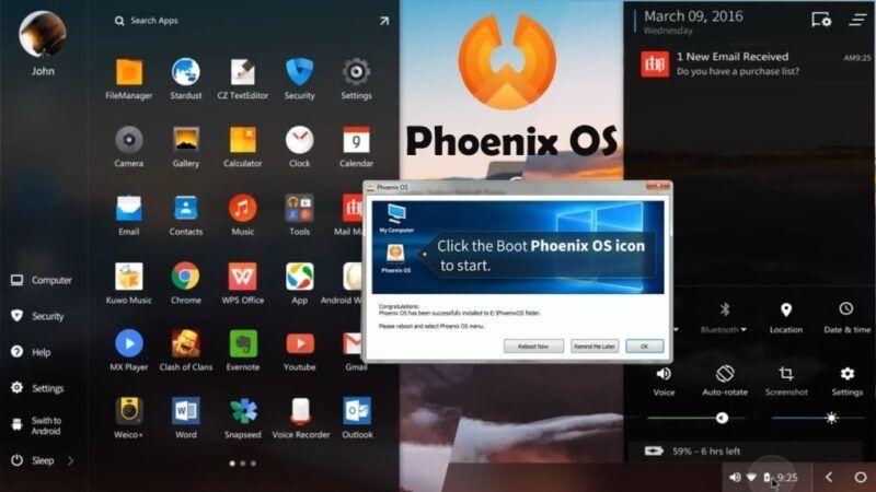 Cómo instalar Android en su PC sin un emulador