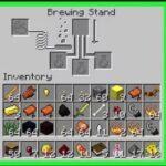 Cómo hacer una poción de curación (salud instantánea) en Minecraft