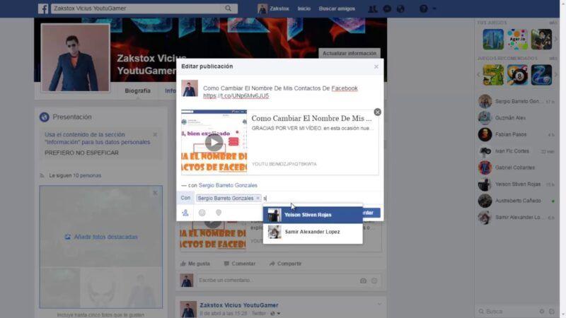 Cómo editar una publicación en Facebook