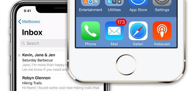 Respuestas en un hilo con iOS Mail