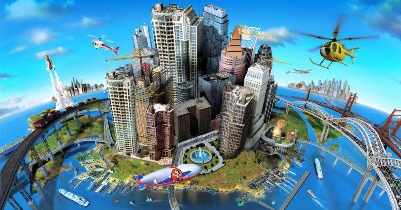 Regiones de descarga para SimCity 4