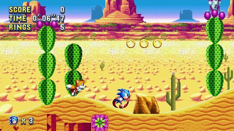 Trucos, códigos y guías de Sonic Mania