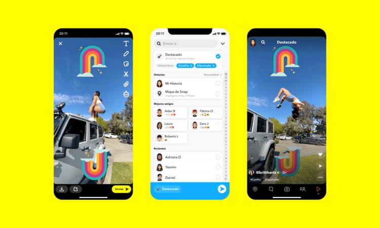 Tendencias de Snapchat