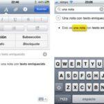 Cómo añadir formato enriquecido al texto en el iPhone Mail
