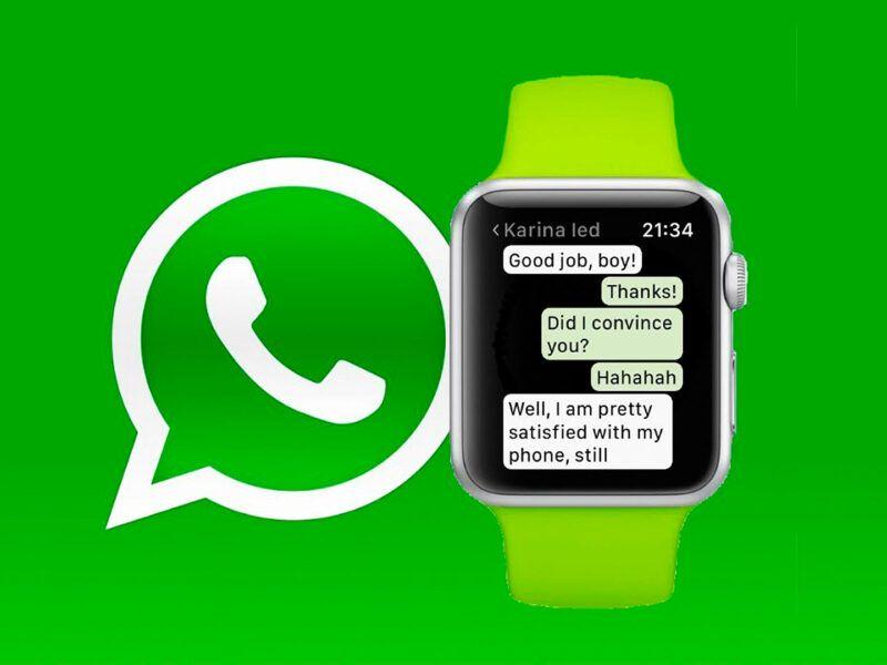 Cómo usar WhatsApp en tu Apple Watch