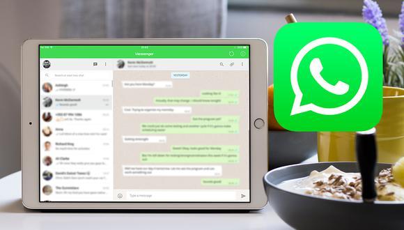 WhatsApp en un iPad