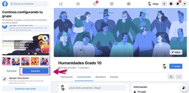 Cómo crear un grupo en Facebook