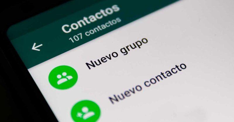 Cómo crear un grupo de WhatsApp