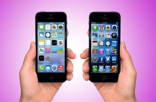 iPhone 4 a iOS 7