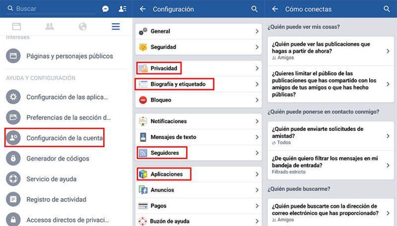 Cómo ser invisible en Facebook