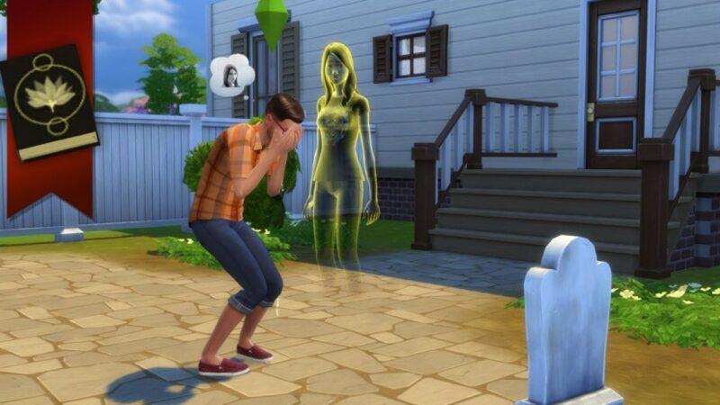 Engañar a la muerte, el luto y los fantasmas en Los Sims 4
