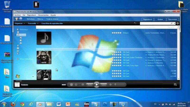 Cómo copiar CDs en el Reproductor de Windows Media 12