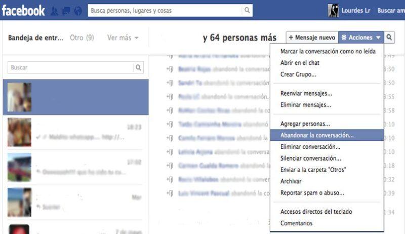 Cómo abandonar un grupo de Facebook