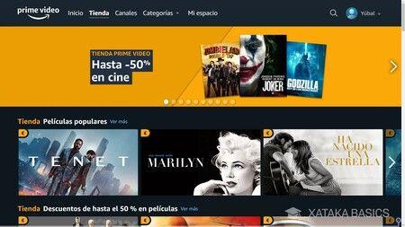 Alquilar películas en Xbox Video
