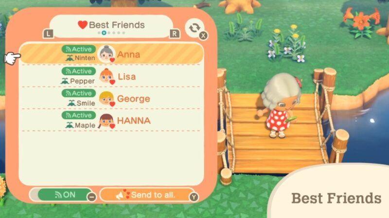 Cómo añadir amigos en Animal Crossing