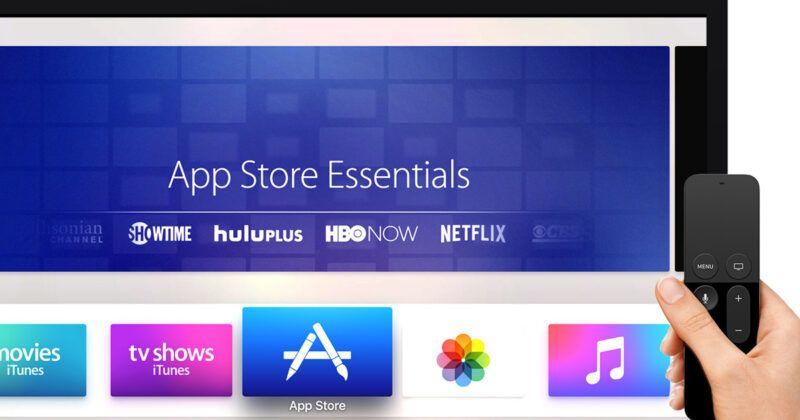 Capturas de pantalla del Apple TV