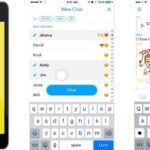 Cómo hacer un chat de grupo en Snapchat