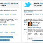 Cómo crear un widget de Twitter para su sitio web o blog