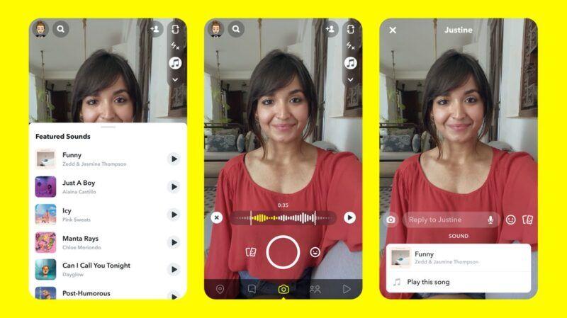 Cómo hacer un Snapchat con música en el teléfono