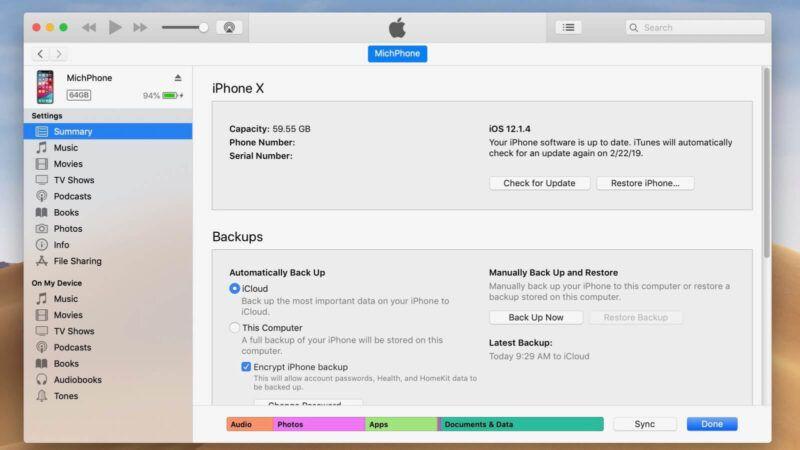 Cómo instalar iTunes en un Mac