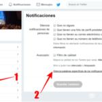 Cómo silenciar usuarios de Twitter y crear una lista de palabras silenciadas