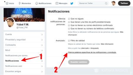 Cómo silenciar usuarios de Twitter