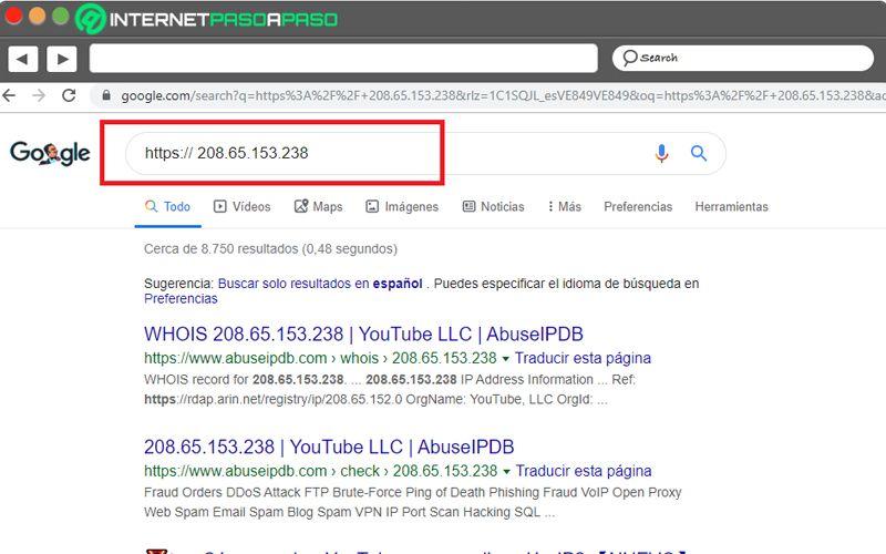 Cómo ver vídeos de YouTube con la dirección IP de YouTube