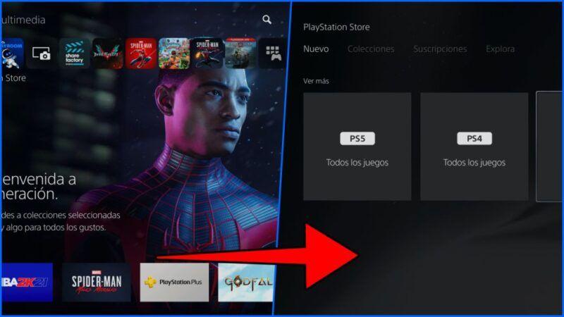 Cómo compartir juegos en la PS5