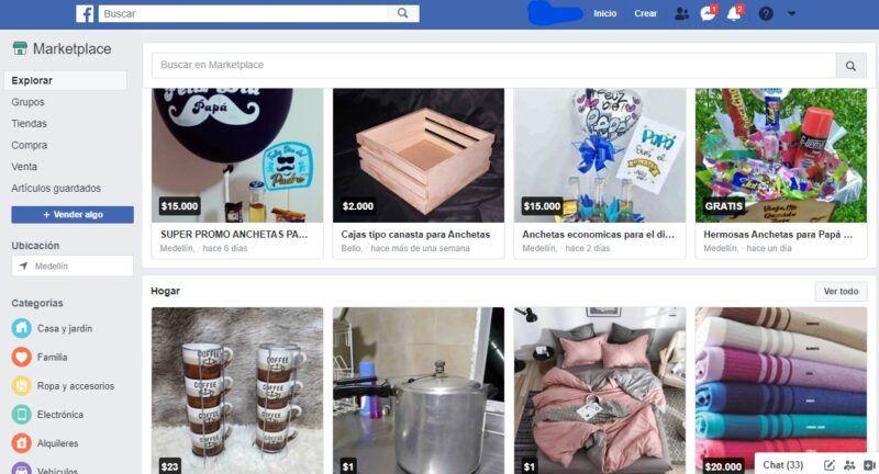 Consejos para comprar en Facebook Marketplace