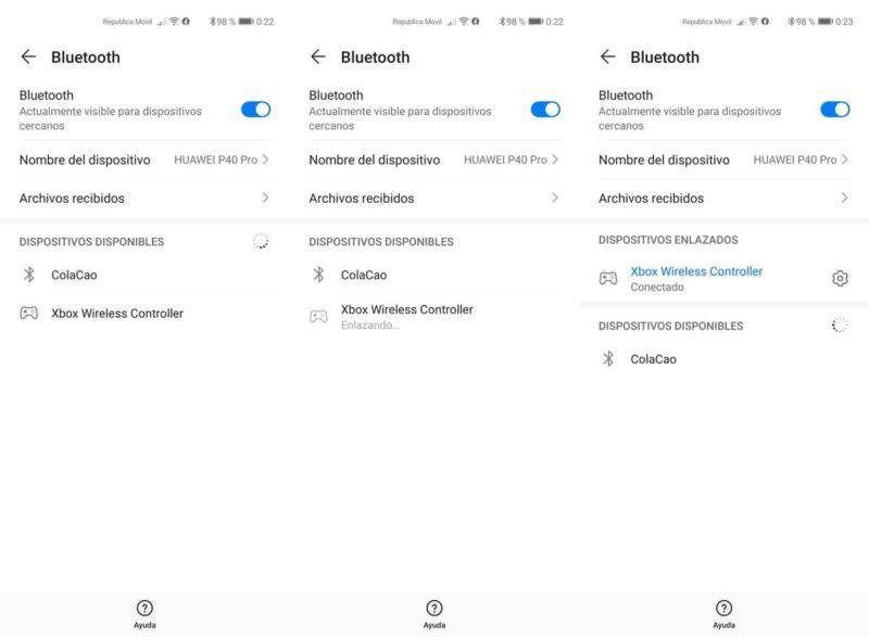Cómo conectar el mando de la serie X o S de Xbox a Android